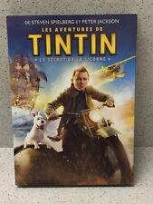DVD Les Aventures de Tintin Le Secret de la Licorne S. Spielberg [Neuf blister]