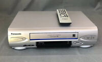 Panasonic PV-V4524S 4-Head Hi-Fi VCR VHS Recorder Player with Remote *Tested*