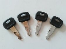 4 Pieces Ignition Keys 459A for Kubota Construction Equipment