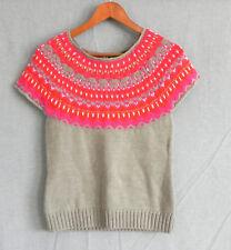 Moda International Sweater Manga Casquillo Mezcla de Lana Varios Colores  Talla M (se adapta a nosotros S). Bs. 137.63 0078676e950aa