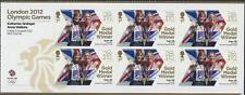 Sellos británico - 3347a Hoja para mujer doble Espadillas [remos] En Miniatura 2012 Juegos Olímpicos de Londres