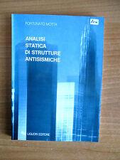 Motta ANALISI STATICA DI STRUTTURE ANTISISMICHE Liguori 1995