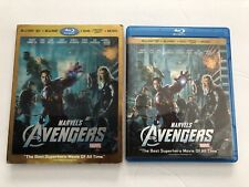 The Avengers 3D + 2D Blu-ray + DVD W/ Lenticular Slipcover