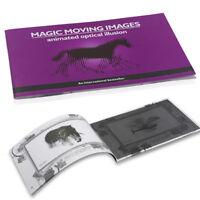 Magic moving images books kids children magic tricks props toys JR