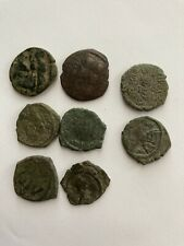 Lot of 8 Ancient Byzantine Coins