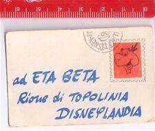 ETA BETA 70s Walt Disney italy gadget message - letterina gadget giornalino