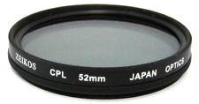 Zeikos 52mm CPL Circular Polarizer Glass Filter Ze-cpl52