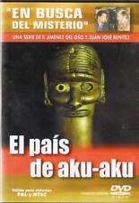 El país de Aku-Aku. En Busca del Misterio Nº 4. DVD