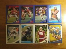 Awesome 29 Card Lot of 2018 Donruss Cards with Blue Parallels & Jacoby Brissett