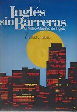 Ingles sin Barreras - Vol. 7 - CD, VHS, Manual and Workbook, Salud y Trabajo S26