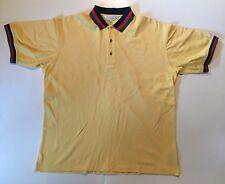 Men's Lyle & Scott Yellow Medium Gold Shirt