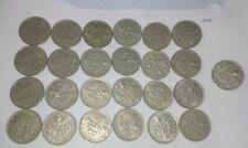 Joblot Of 25 Six Pence Coins