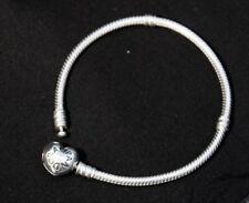 Pandora Silver Moments Heart Clasp Bracelet 18cms 590719
