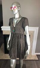 DENIM & SUPPLY Ralph Lauren FLORAL 🌸 Calico BABYDOLL Button Down Dress M 👗