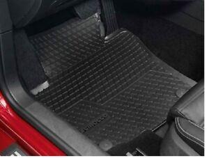 Gummifussmatten vorne schwarz  2 tlg. VW Scirocco