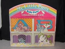 My Little Pony ~ Baby Pony Collector's Case ~ Used ~ Hasbro 1985
