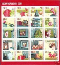 Nederland 2014/2033 decemberzegels 2001 postfris/mnh
