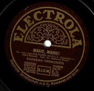 Comedian Harmonists : Marie, Marie / Hof-Serenade