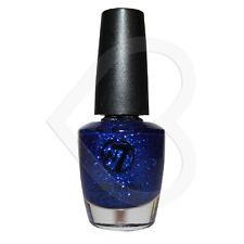 W7 Nail Polish - Blue Dazzle 3 - Blue Glitter (Evening sparkle/Xmas nails)