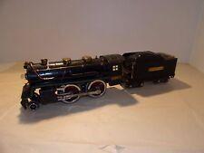 Lionel 384 Standard Gauge 2-4-0 Steam Locomotive With 390-T Tender Runs W/ Light