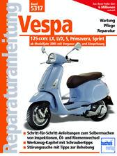 Reparaturanleitung Vespa 125 ccm LX LVX S Primavera Sprint Werkstatthandbuch