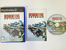 Resident Evil Outbreak PlayStation 2 PS2 PAL Zombie Video Game | Survival Horror