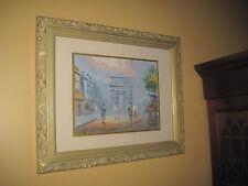 Caroline Burnett Oil Painting French Arc de Triomphe 10 x 13