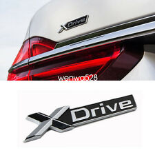 Auto Chrome X-Drive Rear Fender Emblem Badge Sticker Letter For BMW XDrive TRUNK