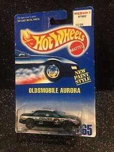 Hot Wheels~1992~Collector No. 265~Oldsmobile Aurora~See Description