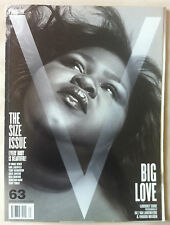 V #63 2010 Gabourey Sidibe Plus Size Ashley Graham Candice Huffine Tara Lynn