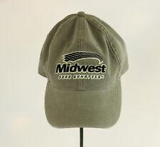 Midwest Seed Genetics Trucker Hat Baseball Cap Dad Farmer Farming Adjustable