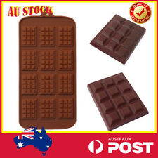 Silicone Waffle Chocolate Baking Mould Cookie Candy Energy Bar DIY 12-Cavity