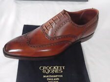 NEW Crockett & Jones FAIRFORD Handgrade Tan Leather Shoes ALL SIZES RRP £560
