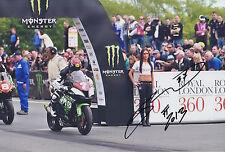 Gary Johnson Hand Signed 12x8 Photo Isle of Man TT 3.
