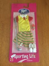 Vintage -BARBIE KEN CLOTHES - Sporting Life FASHIONS - Golf- 1998- New