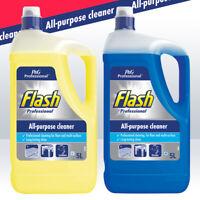 5L Flash Professional All Purpose Cleaner Floor Clean Crisp Lemon / Ocean Blue