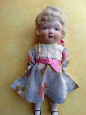 "Vintage Bisque Doll Japan Jointed Original Clothing Adorable 6 1/2"""
