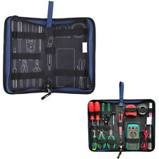 Oxford Pro Electrician Tool Bag Storage Holder Pouch Hard Plate Pocket Organizer
