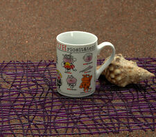 Design@Home Henkelbecher Becher Porzellan Kuhriositäten (Kuh)  250 ml