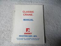 CLASSIC CRANE SMART     arcade game manual