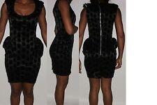 Knee Length Velvet Stretch, Bodycon Women's Dresses