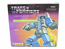 Transformers G1 Dirge Reissue TRU Hasbro Commemorative New MOSC Great
