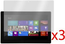 """Hellfire Trading 3x Screen Protector Cover for Microsoft Surface RT 2 10.6"""""""