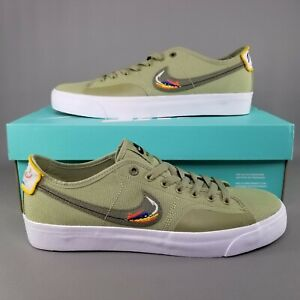 Nike SB x Daan Van Der Linden Blazer Court Skate Shoes Mens Size 8.5 CZ5605-300