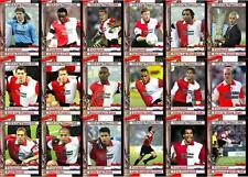 Feyenoord 2002 UEFA Cup winners football trading cards