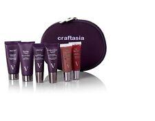 vbeauté Skincare Travel Kit - Creme, Exfoliator, Brightener, Undercover, Lip Gls