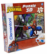 Galleria farah1970 - MADE IN ITALY Puzzle Clementoni SPIDERMAN 3D-104 - CLE20042