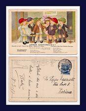 ITALY OPERETTA ADDIO GIOVENEZZA  DE STEFANI & PIETRI POSTED 9 MAR 1923 TO TORINO