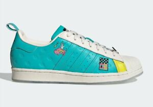 Adidas Men's Superstar X Arizona Have an Iced Day Teal Yellow GZ2861
