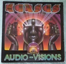 "KANSAS 1980 Audio-Visions 12"" Vinyl 33 LP Kirshner Hold On Got to Rock On VG/VG+"